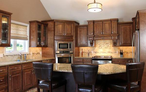 Chocolate Maple Cabinets