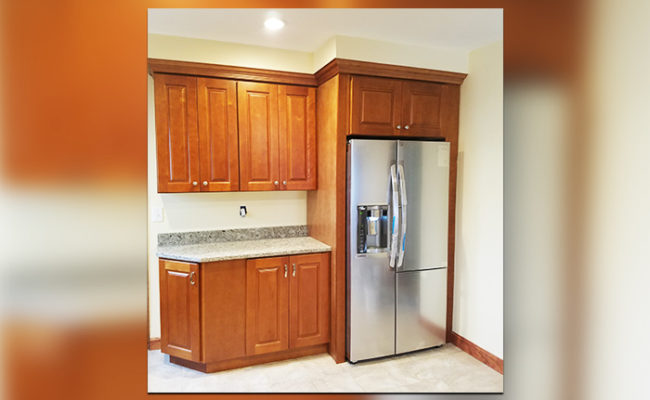 Countertops and Kitchen Cabinets in Boston and Marshfield ... on Maple Cabinets With White Granite Countertops  id=28968